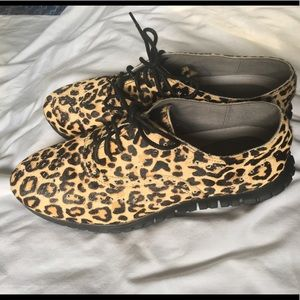 Cole Haan Leopard Print Shoes